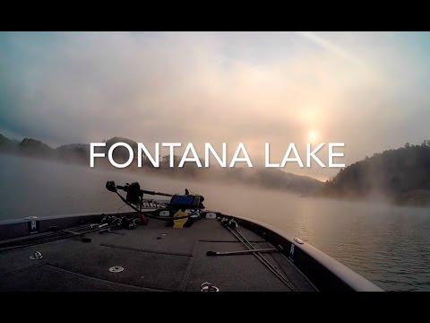 Fontana Lake Fall Topwater Fishing