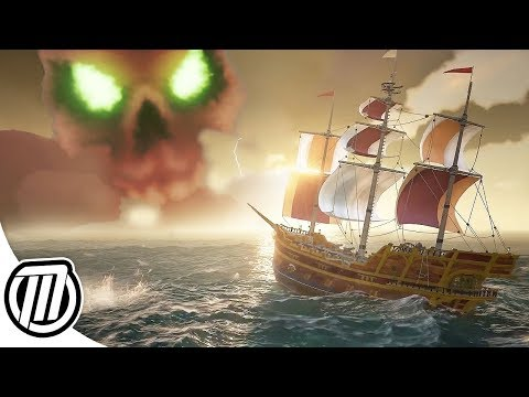 Sea of Thieves: Search for the SKULL CLOUD FORT! | Multiplayer Gameplay