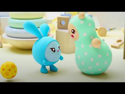 Малышарики – Неваляшка   Новая Серия 174   Мультфильмы для детей