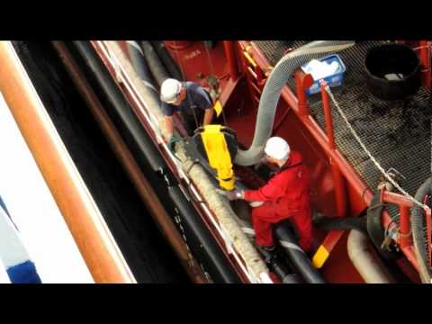 FUEL SHIP AT LISBON.wmv