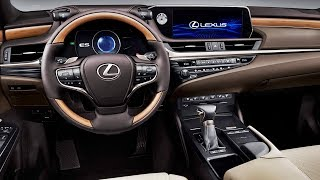 The future of lexus interiorswhen designing look and feel es' cabin, kajino's team's starting point was interior concept, which b...