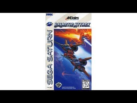 Galactic Attack Review for the SEGA Saturn