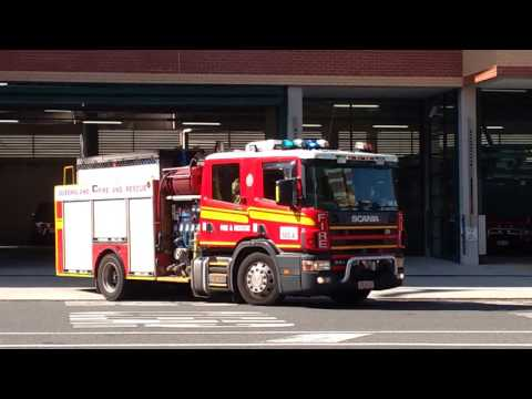 Qld Fire and Rescue responding Compilation