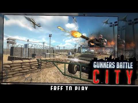 Gunner Battle City - Android Gameplay