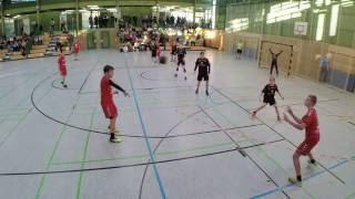 Bayernliga C-Jugend TSV 2000 Rothenburg -  HSC 2000 Coburg 03.12.2016