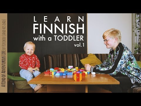 Learn Finnish with a Toddler vol.1