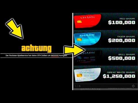 ROCKSTAR GAMES VERSCHENKT $400,000! & KOMMEN NEUE SHARKCARDS DAZU? | [1.41] [GERMAN/Deutsch]