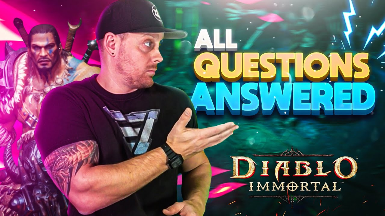 Diablo Immortal ALL Questions Answered