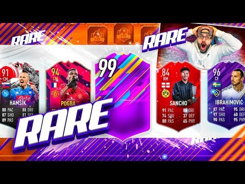 OMG I GOT THE RAREST DRAFT EVER! FIFA 19 Ultimate Team Draft