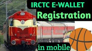 Irctc ewallet registration in mobile   @ irctc ewallet registration kaise karen   @@