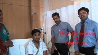 Dr Sandeep Vaishya brings smile and hope to the Shukla Family