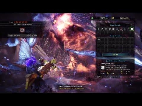 Monster Hunter World ปืนหนักลูกปราย[แพะทอง] ปะทะ อาร์คเทมเซโน [UPGRADE] thumbnail