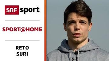 Krafttraining für daheim & draussen mit Reto Suri (FC Lugano) - sport@home - Folge 3