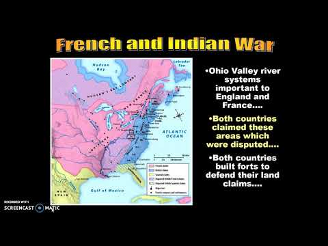 French and Indian War Lecture