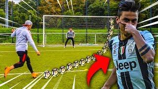PAULO DYBALA FUßBALL CHALLENGE !