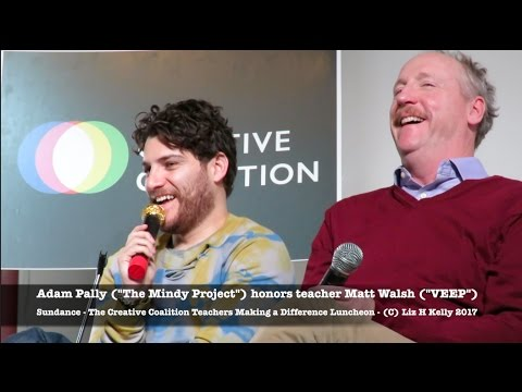 Sundance 2017 Adam Pally honors Matt Walsh VEEP