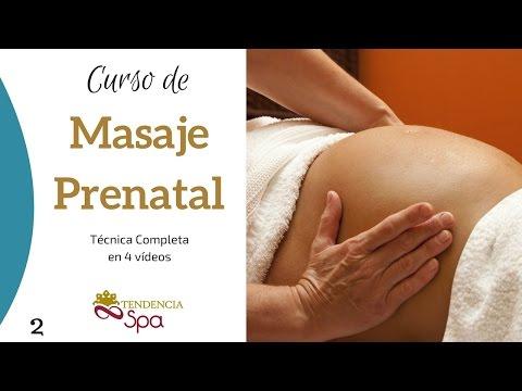 Curso de Masaje en Espalda para Embarazadas