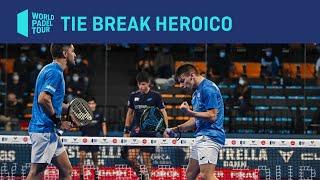 Un tie break heroico: Di Nenno (lesionado) y Maxi acceden a semifinales del Master Final 2020