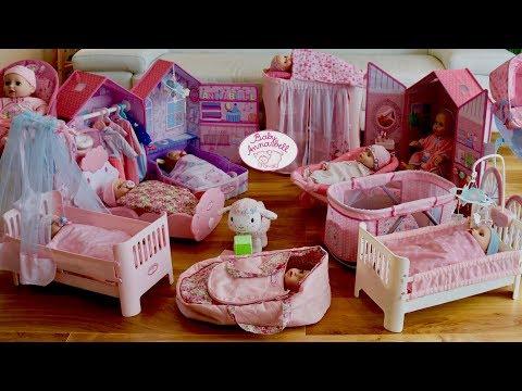 Baby Annabell Collection Large Nursery Center 10 Baby Dolls 10 Nursery Toys & Nursery Rhymes