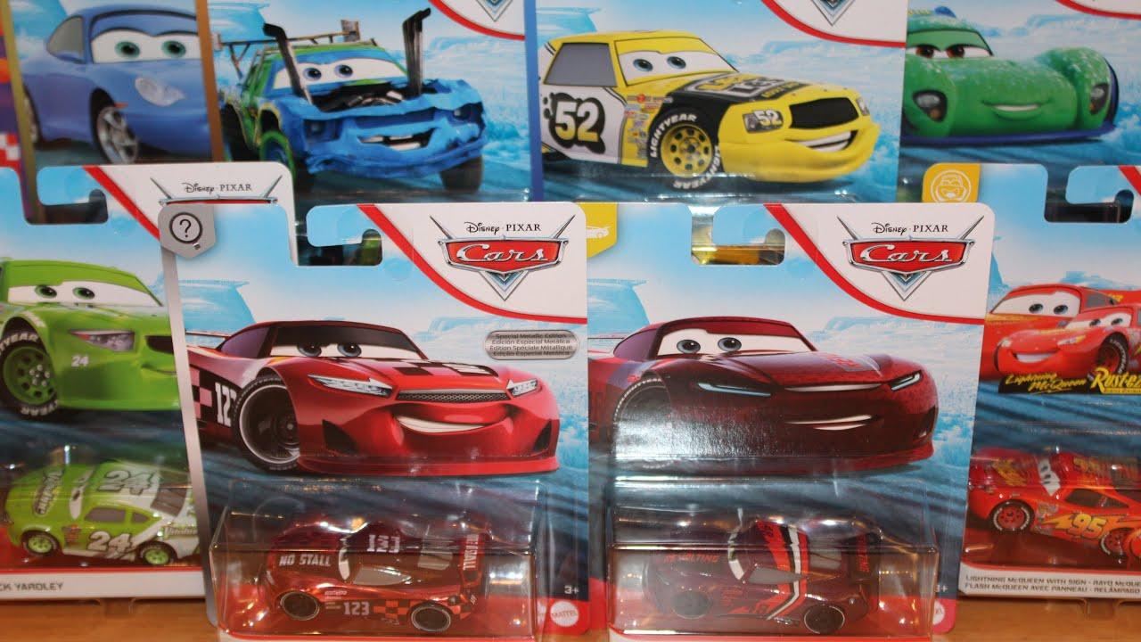 Mattel Disney Cars 2020 Case G Unboxing Aaron Clocker Metallic Jonas Carvers Leak Less Next Gen Youtube