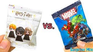 АКЦИИ: ЛЕНТА vs. ПЯТЁРОЧККА - Гарри Поттер против МАРВЕЛ Стиратели - Что круче? Сюрпризы ИГРУШКИ