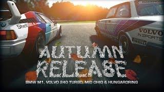 R3E: Autumn Release