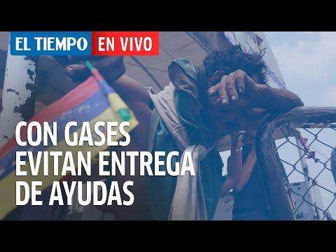 Siga en vivo la entrega de las ayudas humanitarias en Venezuela I EL TIEMPO