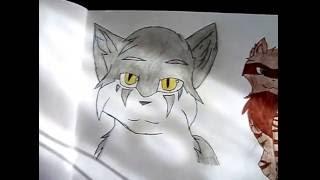 Мои рисунки котов воителей №1