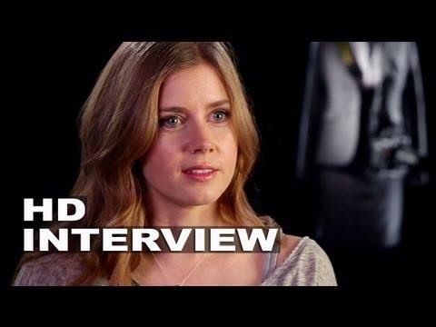 "Man of Steel: Amy Adams ""Lois Lane""  On Set Interview"