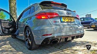 New 2018 Audi RS3 Sportback Exhaust SOUNDS! REVS & More!