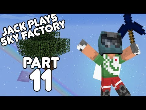 Cloches for all! Jack plays Sky Factory Part 11! (August 6th, 2017)