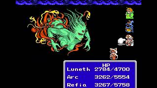 Final Fantasy 3 NES Final Boss