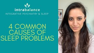 4 Common Causes of Insomnia