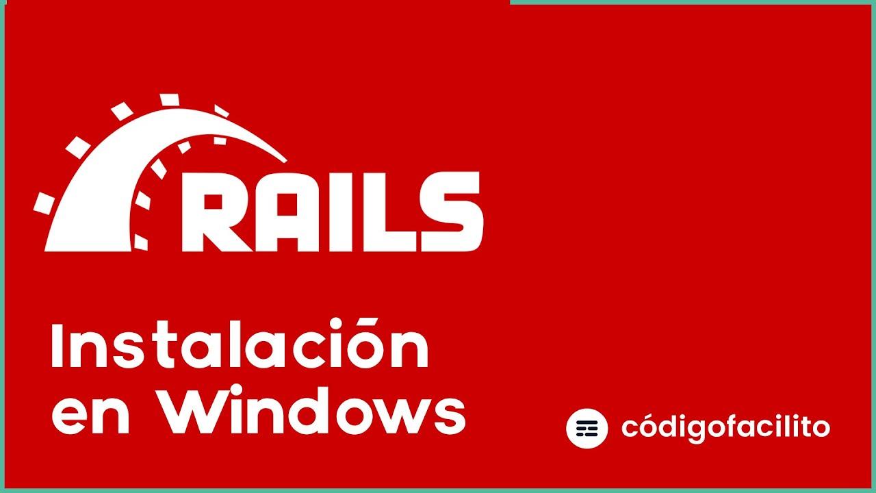 Cómo instalar Ruby on Rails en Windows