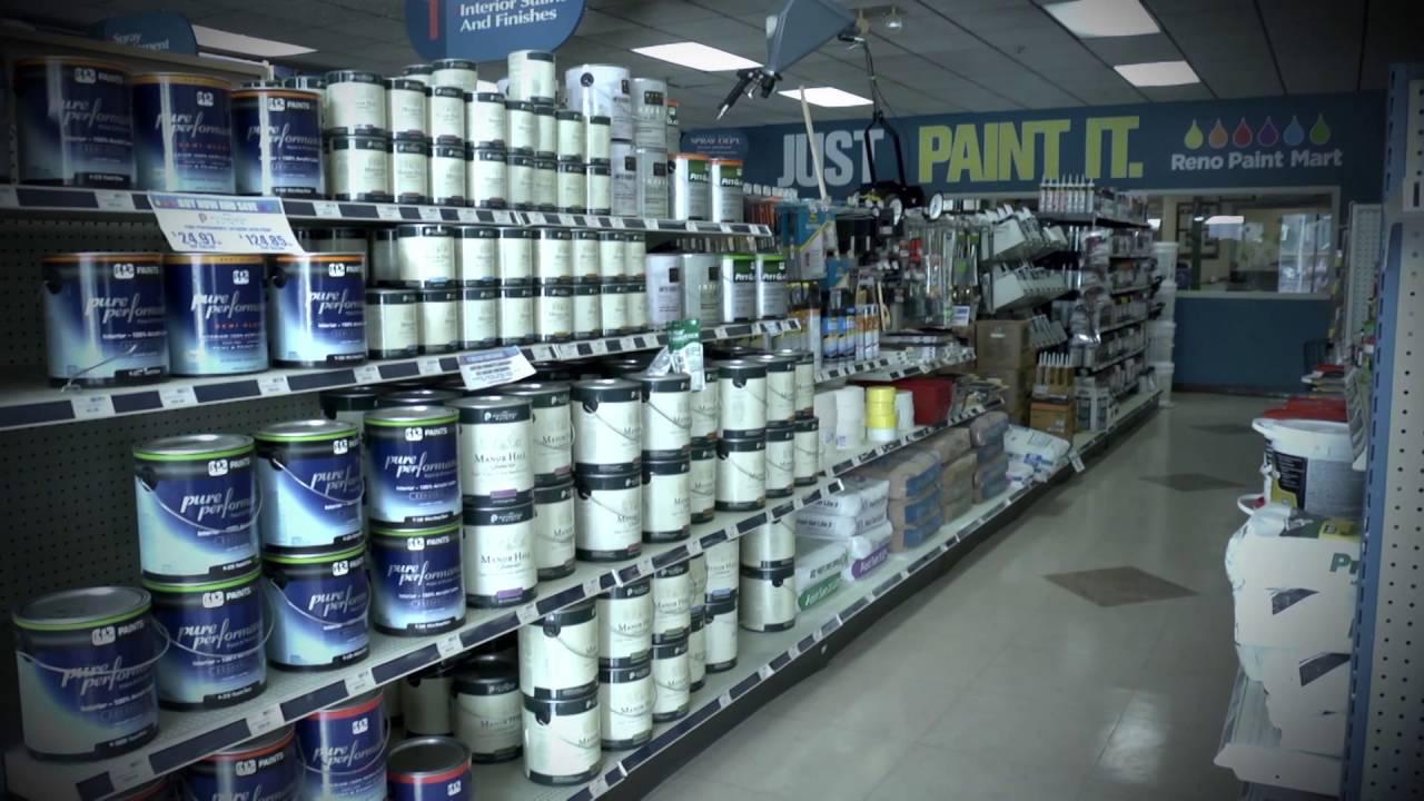 Reno Paint Mart >> 520761 Reno Paint Mart Color 03072016 Youtube