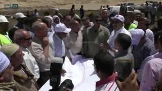 مصر العربية | محافظ أسيوط يتفقد أعمال المرحلة الثانية لطريق محور الهضبة الغربية