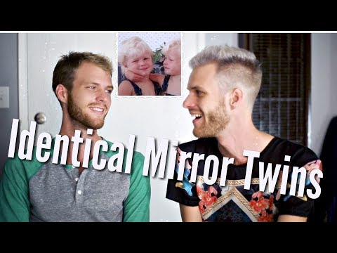 Identical Mirror Twins (One Straight, One Gay) Disproves Nature Vs. Nurture