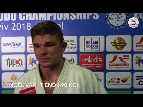 EK judo 2018 - Noël van 't End
