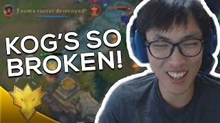 """Doublelift - """"YOU DO SO MUCH DAMAGE!"""" ft. Biofrost - League of Legends Funny Stream Moments"""