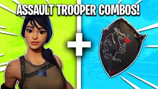 Sweatiest 'ASSAULT TROOPER' Skin Combinations in Fortnite!