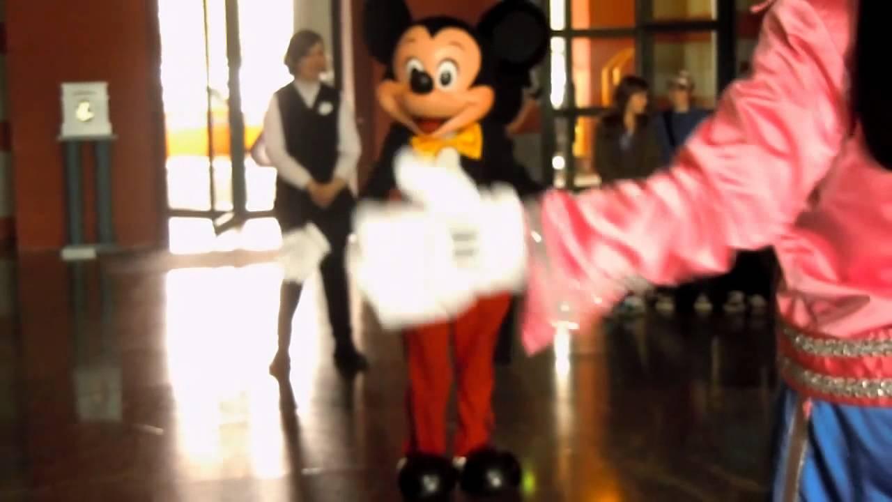 Mickey Danse Pour Les 20 Ans De Disney