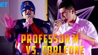 ОБЗОР! Battle Corleone vs. Professor M. (RAP.TJ)