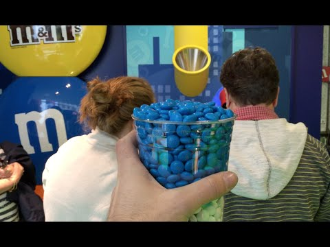 Discovering M&M's world Store in NYC