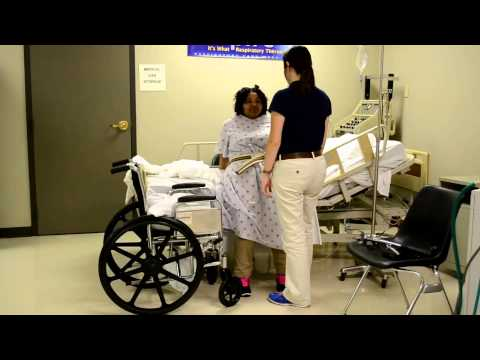 Physical Therapy Transfers for Total Hip Replacement