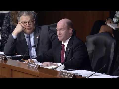 Senator Coons questions Judge Neil Gorsuch, March 21, 2017