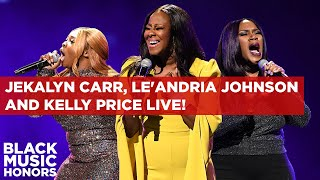 Le'Andria Johnson , Kelly Price and Jekalyn Carr Honor Yolanda Adams | Black Music Honors 2019