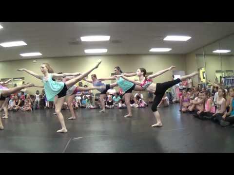 Ballet Rehearsal for Recital 2014
