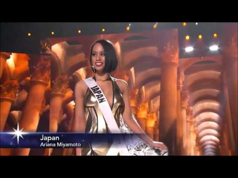 JAPAN - Ariana Miyamoto (Miss Universe 2015)