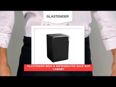 Glastender BB24 N Refrigerated Back Bar Cabinet