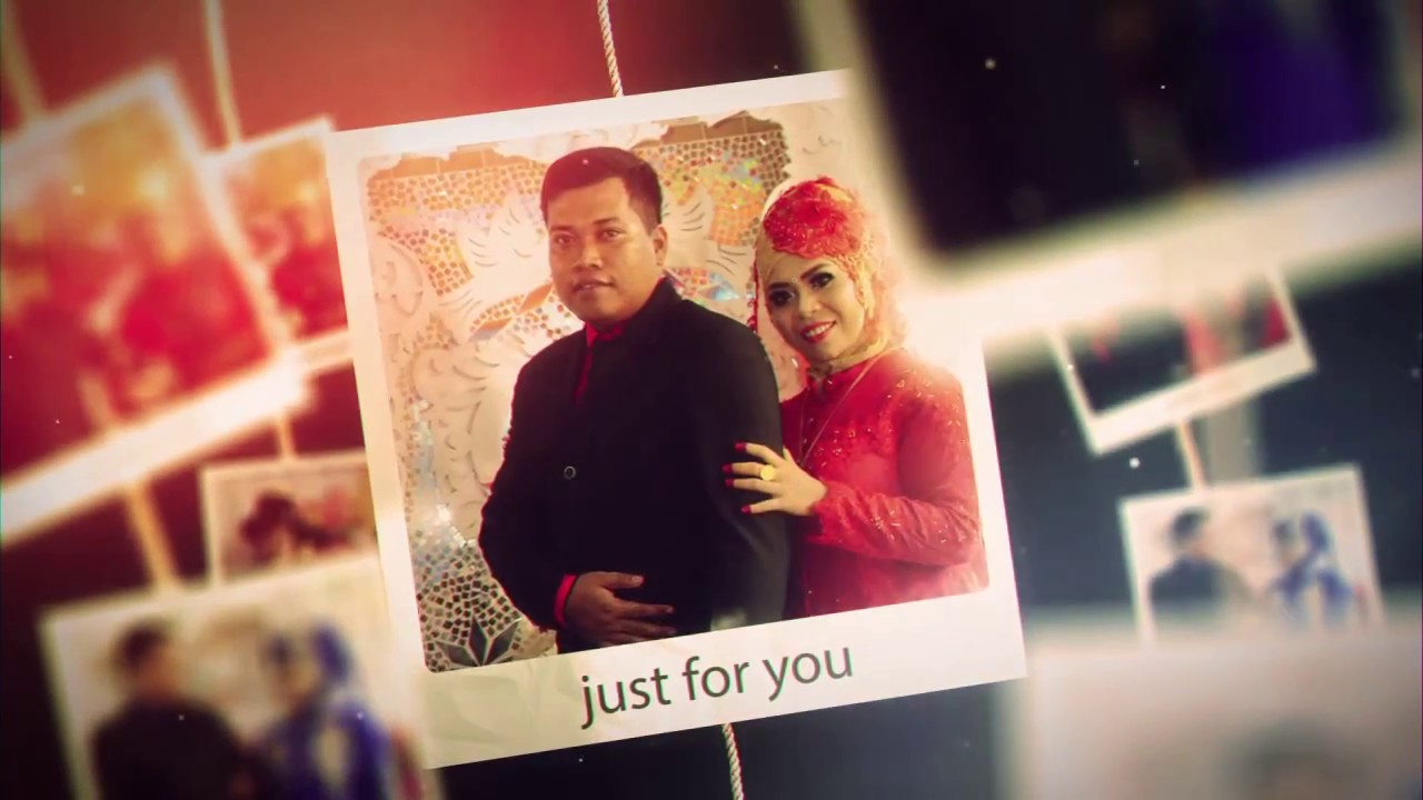 contoh opening rahmad wedding clip slideshow creator